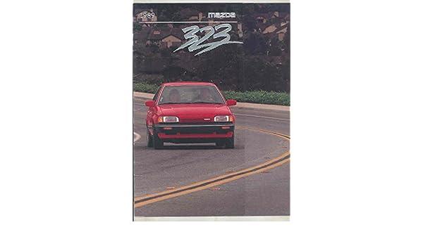 Amazon.com: 1989 Mazda 323 SE GTX LX Brochure: Entertainment Collectibles