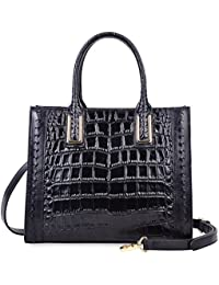Women Top Handle Satchel Handbags Designer Leather Tote Bag