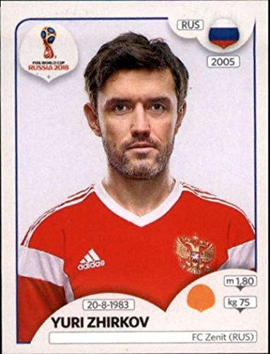2018 Panini World Cup Stickers Russia #44 Yuri Zhirkov