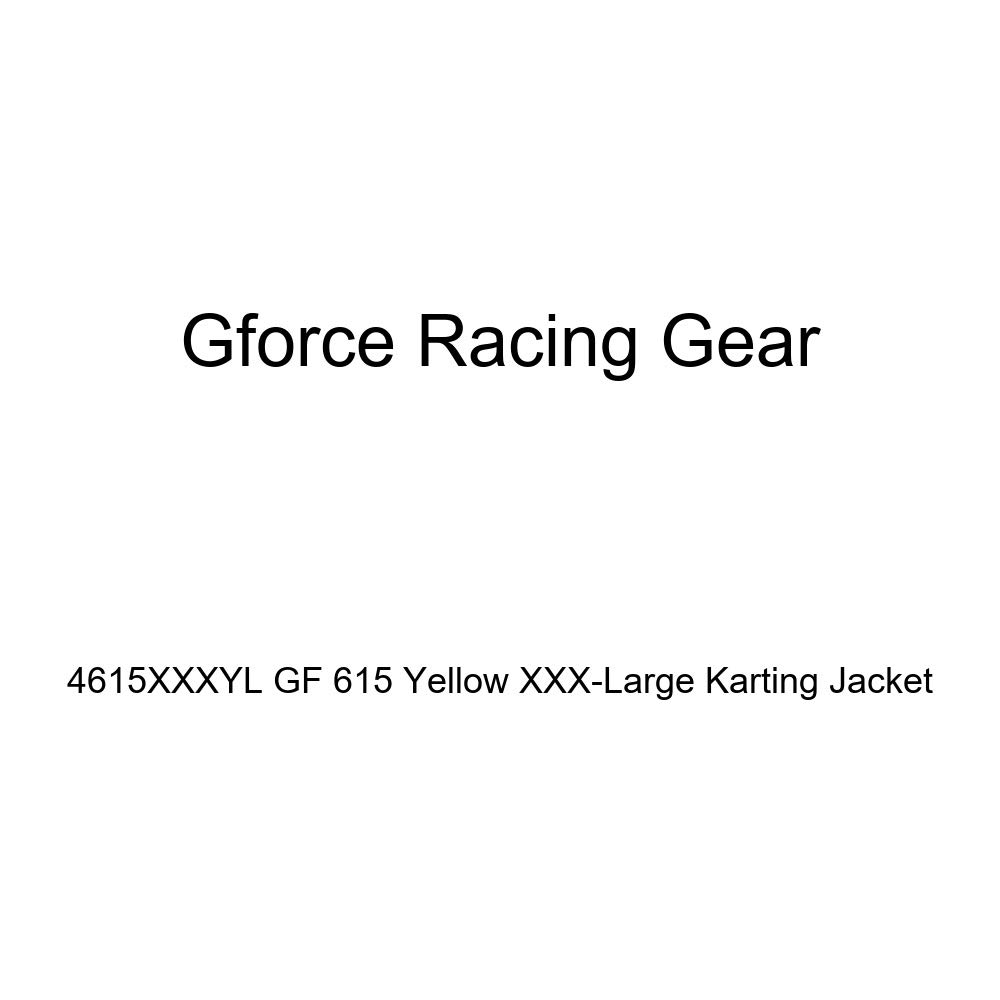 G-Force 4615XLGYL GF 615 Yellow X-Large Karting Jacket