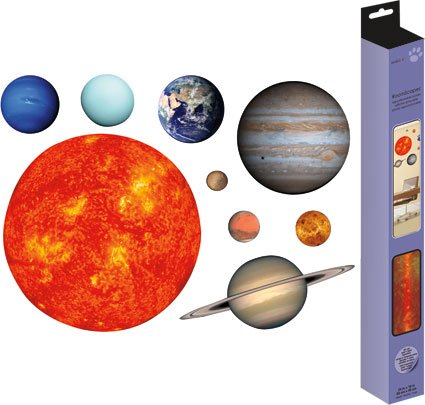 Trends International Solar System Poster Decal 18'' X 24'' by Sandylion