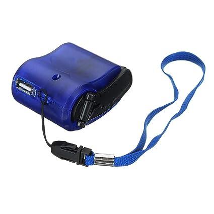 DAXINYANG Generador de energía con Arranque Manual USB ...