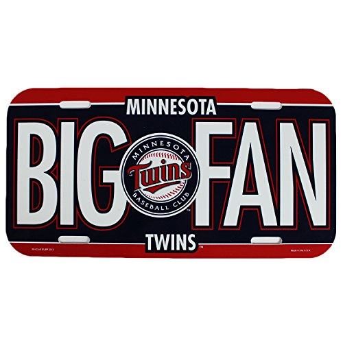 MLB Minnesota Twins License Plate - Champions Minnesota Twins