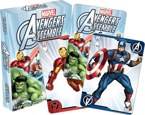 Aquarius Avengers Assemble Youth Playing Cards]()