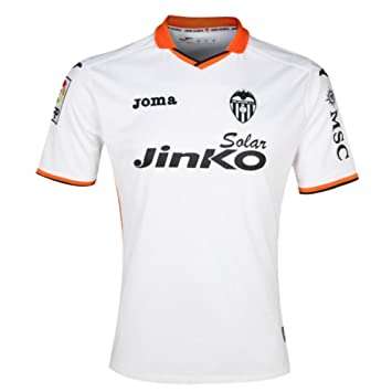 Joma Valencia C.F. - Camiseta de fútbol para niño 2013-14: Amazon.es: Deportes y aire libre