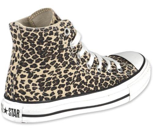 Converse Tutte Le Stelle Scarpe 4,5 Leopard