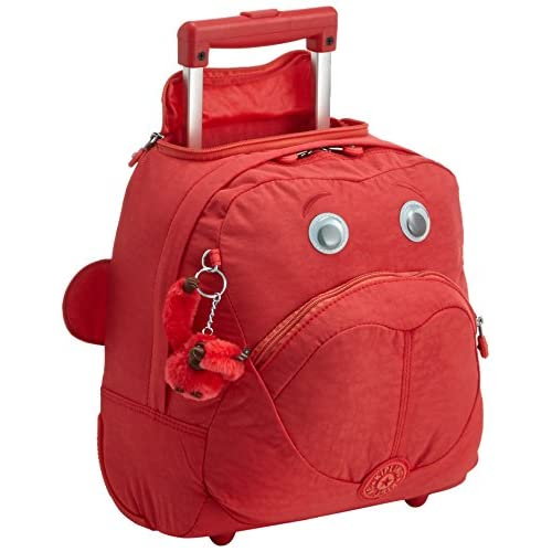 Kipling - WHEELY - Cartable à roulettes - Rouge (Happy Red) - (Rouge)