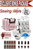 Juki MO-644D 2-needle, 2/3/4 Thread Serger w/ Platinum Series Exclusive Bonus Package!