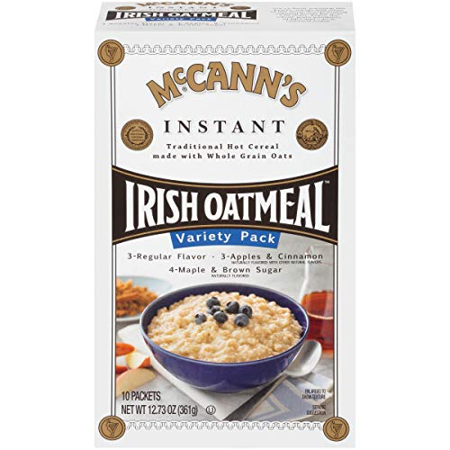 McCann's Instant Irish Oatmeal Variety Pack, 10 Count