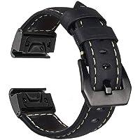 Large Size Watch Band for Garmin Fenix 3/Fenix 3 HR/Fenix 5X/D2 Charlie/Descent Mk1 Replacement Watch Band Quick Release…