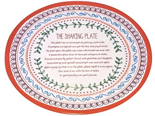 Thanksgiving Harvest Sharing Plate for Friends & Family