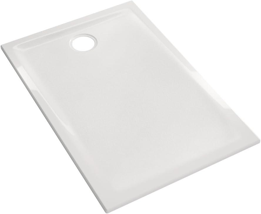 /à poser et//ou /à encastrer Allia Receveur Prima 140x80x4.5cm Blanc