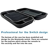 Switch Game Carrying Box Case for Nintendo Switch with 10 Game Cards Holders - Black