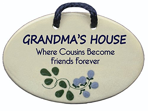 GRANDMA'S HOUSE: Where cousins become friends forever. Handmade in the USA for over 30 years. Reduced price offsets shipping cost.