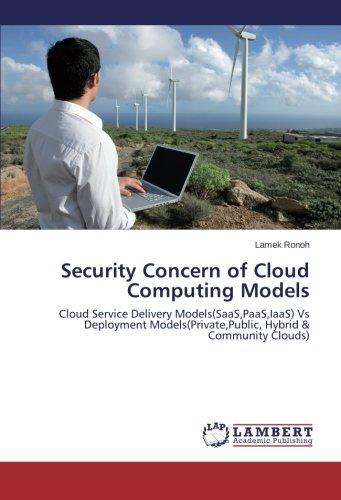Security Concern of Cloud Computing Models: Cloud Service Delivery Models(SaaS,PaaS,IaaS) Vs Deployment Models(Private,Public, Hybrid & Community Clouds) pdf epub