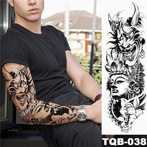 Zhuhuimin Etiqueta engomada del Tatuaje Tatuaje de Loto Rosa ...