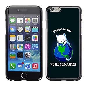 - World Planet Earth Cat Ruler White King Anime - - Monedero pared Design Premium cuero del tir???¡¯???€????€?????????&Atild