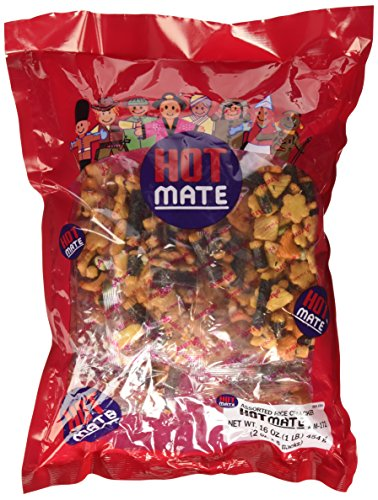 Shirakiku - Hot Mate Assorted Rice Crackers 16 Oz.