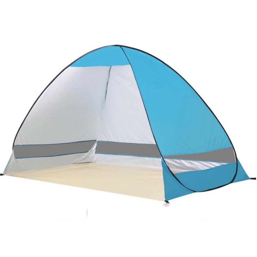 Strand Zelt Ccbetter Outdoor automatische Pop Up Strand Zelt Camping Sun Shelter Outdoor Instant automatische tragbare Cabana 3 oder 4 Personen Familienzelt Shelter UV-Schutz