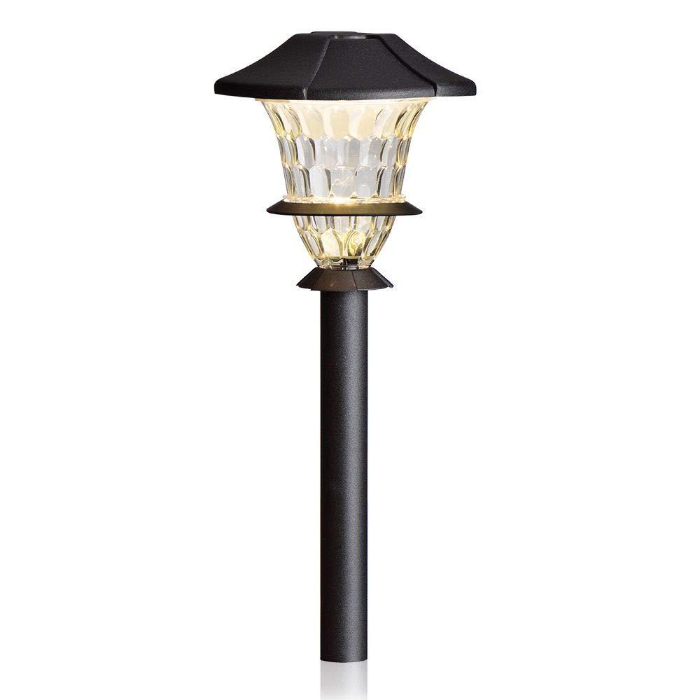 Sterno Home GL33869BK Paradise Low Voltage Cast Aluminium LED Path Light, 1-Pack, Black