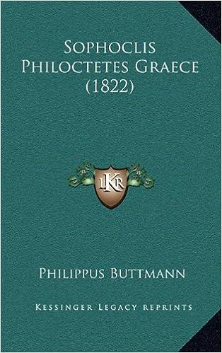 Sophoclis Philoctetes Graece (1822)
