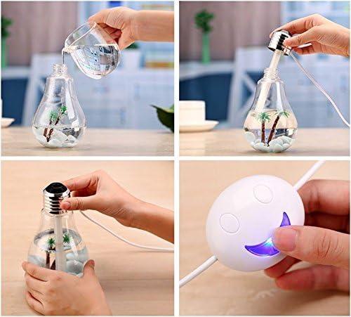 Berryking Healthbulb - Difusor ambientador LED, humidificador ...