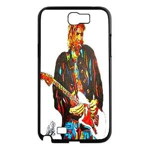 Samsung Galaxy Note 2 Case Kurt Cobain Nirvana Posters, Nirvana Tyquin, {Black}