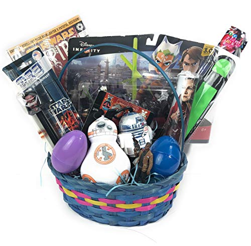 Ultimate Gifts Best Gift Basket for Kids Teens Filled with Toys, Surprise Eggs, Blind Bags (Anakin & Ahsoka) ()