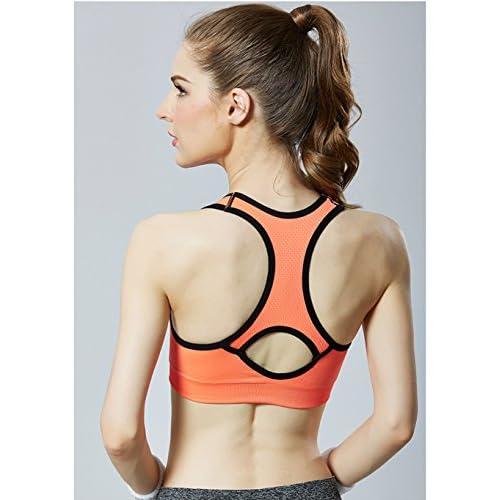 16ddba72b6406 Morbuy Femmes Yoga Vest Femme Soutien Gorge de Sport Sous-vêtements Bra  Brassière pour Jogging