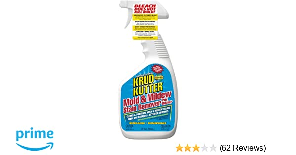 Amazon KRUD KUTTER MS324 Mold and Mildew Stain Remover 32 oz