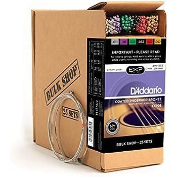 d 39 addario ej39 12 string phosphor bronze acoustic guitar strings medium 12 52. Black Bedroom Furniture Sets. Home Design Ideas