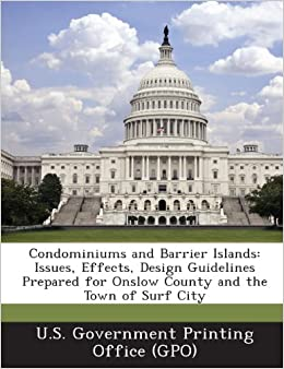 condominiums and barrier islands issues effects design guidelines
