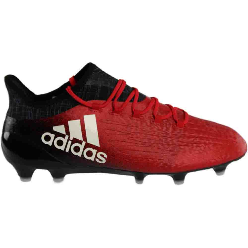 super popular 3f581 34dd2 Amazon.com adidas X16.1Fg RedWhiteBlack Soccer Shoes (BB5618) Sports   Outdoors