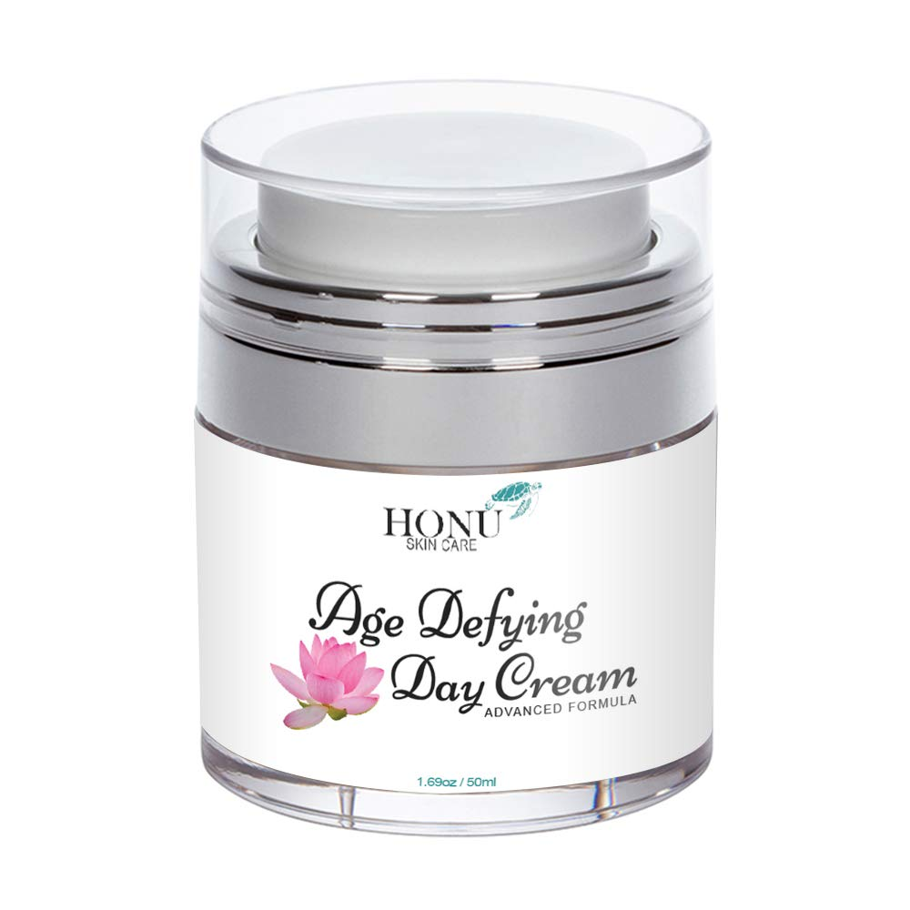 Anti Aging Face Cream & Wrinkle Cream - Perfect Day Cream Face Moisturizer - Proprietary Face Lotion Formula with Aloe Vera To Support Skin Hydration, Tightening, Brightening, Anti Wrinkle Cream by Honu