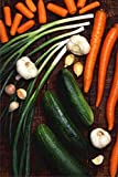 LAMINATED 24x36 Poster: Vegetables Cucumbers Carrots Onions Garlic Fresh...
