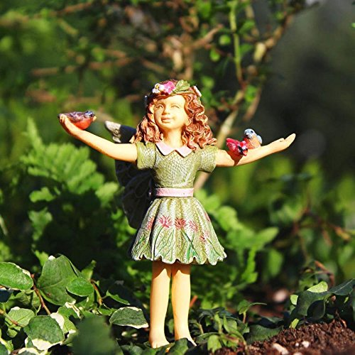 Miniature Fairy Garden Figurine FAIRY COURTNEY (NIP) - My Mini Garden Dollhouse Accessories for Outdoor or House Decor