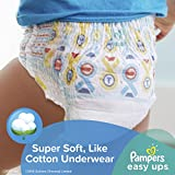 Pampers Easy Ups Training Underwear Boys Size 3T-4T (Size 5), 72 Count