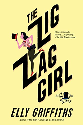 The Zig Zag Girl (Magic Men Mysteries Book 1)