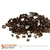 Starfire Glass 10-Pound ''Fire Glass'' 1/2-Inch Rich Copper Reflective