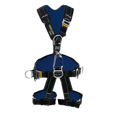 Arnes Seguridad Cuerpo Rescate Buffer Cuerda Ajustable Trabajo ...