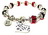 I Love My Shih Tzu Capped Crystal in Crimson Red Chubby Chico Charms Exclusive