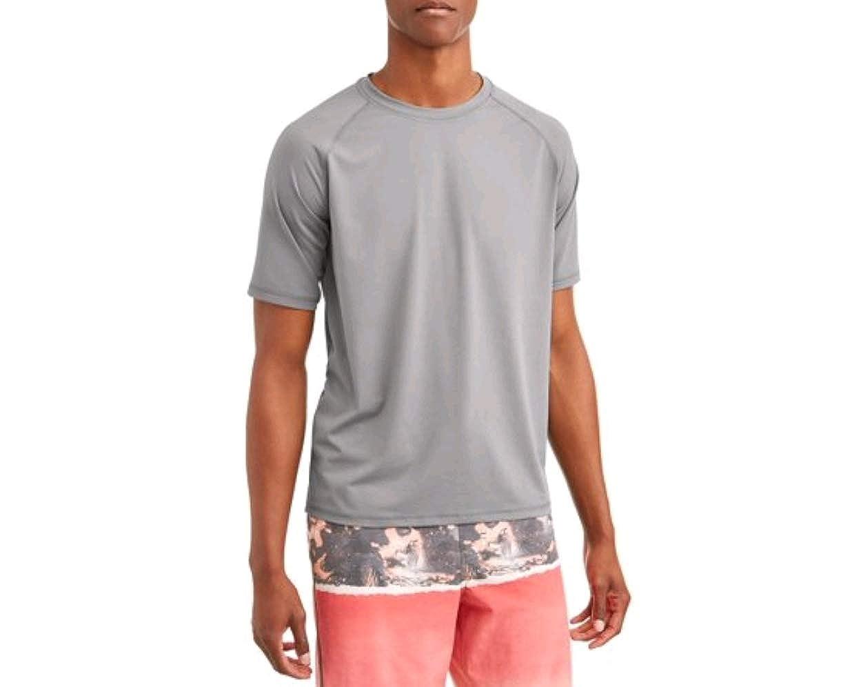 George Mens Short Sleeve Rash Guard Shirt