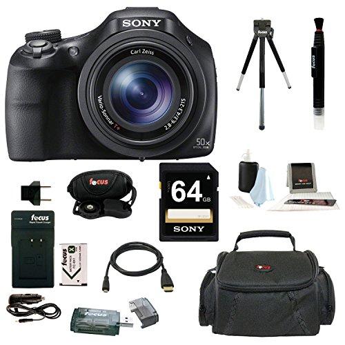 Sony Cyber-shot DSC-HX400 Digital Camera with Medium Soft Ph