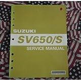 2003 Suzuki SV650/S Service Manual SV650/SK3