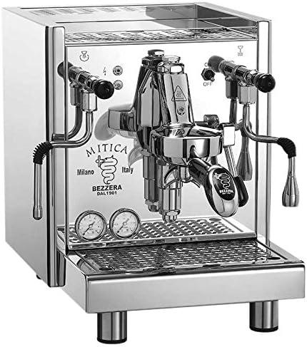 Bezzera Mitica Top Cafetera con bomba rotativa y conexión fija de agua: Amazon.es: Hogar
