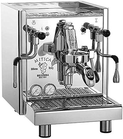 Bezzera Mitica Top Cafetera con bomba rotativa y conexión fija de ...