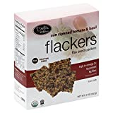 Doctor In The Kitchen Organic Tomato and Basil Flackers, 5 Ounce - 12 per case.