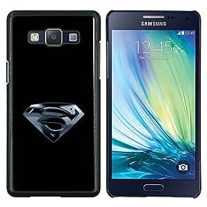 /Skull Market/ - Superhero S For Samsung Galaxy A5 A5000 A5009 - Mano cubierta de la caja pintada de encargo de lujo -