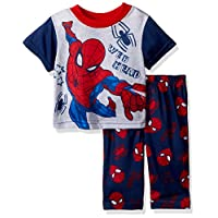 Spiderman Baby Boys 2-Piece Pajama Set, Navy Web, 18M