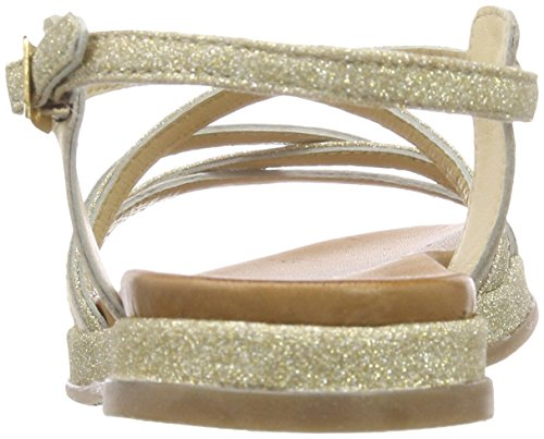 champagner De Sandalias Mujer Abierto S 28107 Para oliver Beige Talón 7FqnnzwRxP